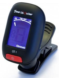 Black Mini Clip-on Guitar Tuner GT-1
